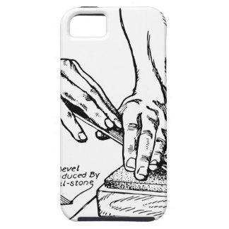 Iron Whetting Illustration iPhone 5 Covers