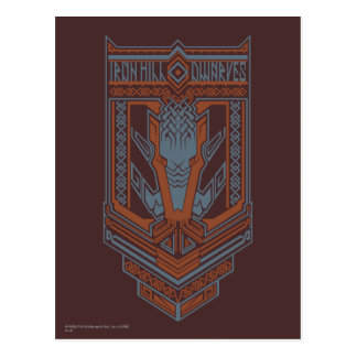 Ironhill Dwarves Shield Icon Postcard