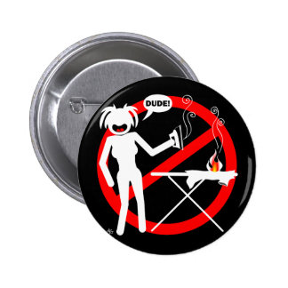 Ironing Hazard Buttons and Keychains