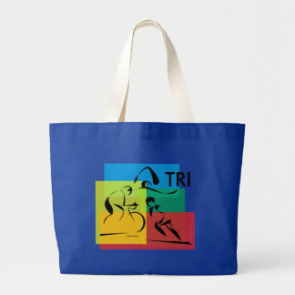 Ironman Abstract 4 Jumbo Tote Bag