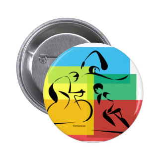 Ironman Abstract 4 Pinback Buttons