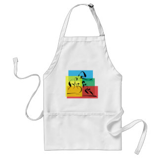 Ironman Abstract 4 Standard Apron