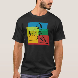 Ironman Abstract 4 T-Shirt