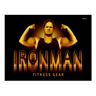 Ironman Fitness Gear Postcard