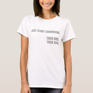 Ironman Just Keep Swimming T-Shirt