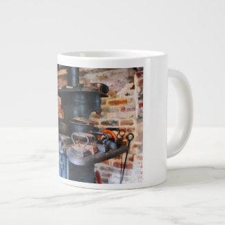 Irons Heating On Stove Jumbo Mug