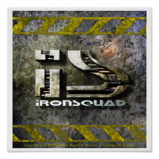 IronSquad Poster