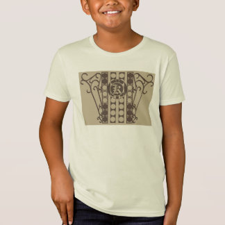 IRONWORK SCROLLWORK 2 Kids' American Apparel Organ T-Shirt