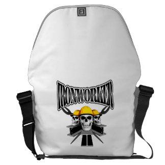 Ironworker Skulls Messenger Bags