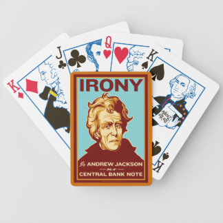 Irony Is Andrew Jackson Playing Cards