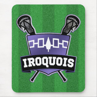 Iroquois Nation Lacrosse Mouse Pad