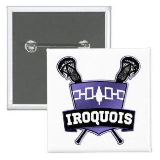 Iroquois Nation Lacrosse Pinback Button