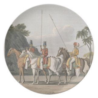 Irregular Cavalry, Bengal Army 1817, plate 5 from