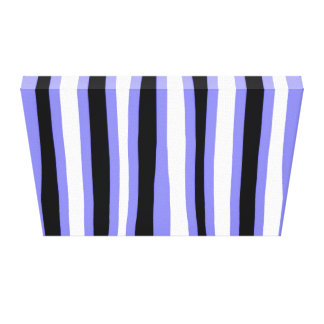 Irregular Lines Abstract Canvas Print