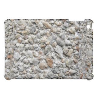 Irregular Pern Of Different Size Stones iPad Mini Covers