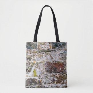 Irregular Stone Wall All-Over-Print Tote Bag