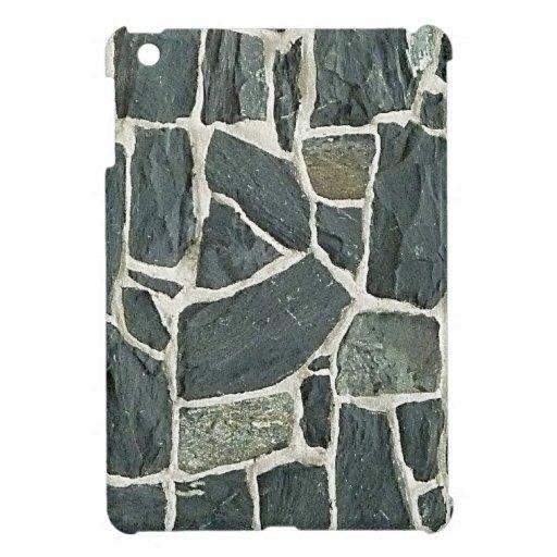 Irregular Stones Wall Texture Case For The iPad Mini