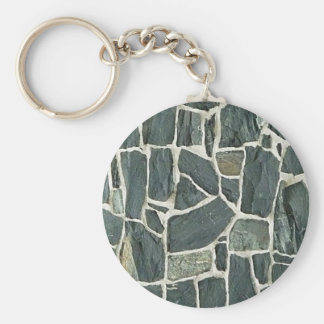 Irregular Stones Wall Texture Keychain