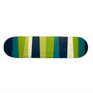 Irregular Stripes 01 18.1 Cm Old School Skateboard Deck