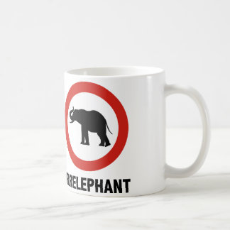 Irrelephant Coffee Mug