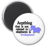 Irrelevant Elephant Magnet