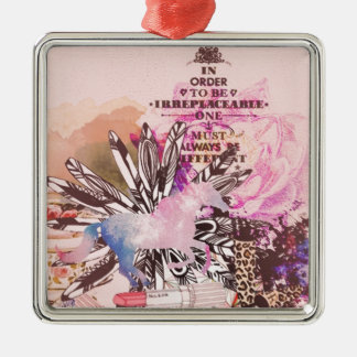 Irreplaceable, quirky kitsch girly art. ornament