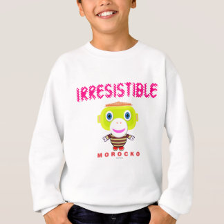 Irresistible-Cute Monkey-Morocko Sweatshirt