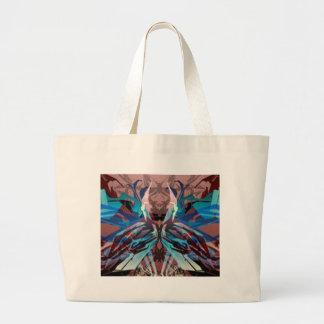 Irresistible monster design canvas bag