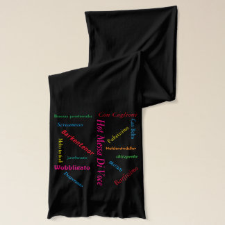 Irreverent Opera Terms Scarf