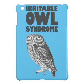 Irritable Owl. Funny pun Case For The iPad Mini