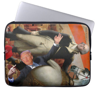 """Irritable Trump Syndrome"" Laptop Sleeve"