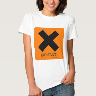 irritant (when pissed) t-shirts