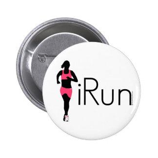iRun 6 Cm Round Badge