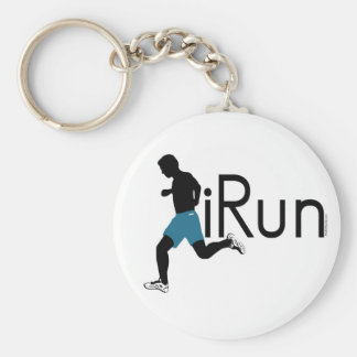 iRun Basic Round Button Key Ring