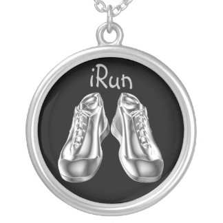 iRun Chrome Running Shoes Necklace