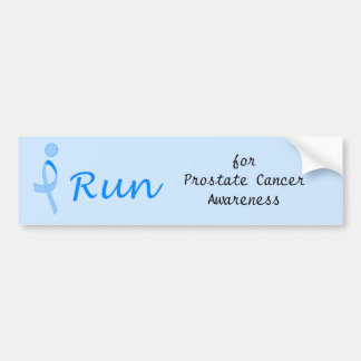 iRun for Prostate Cancer Awareness Bumper Stickers