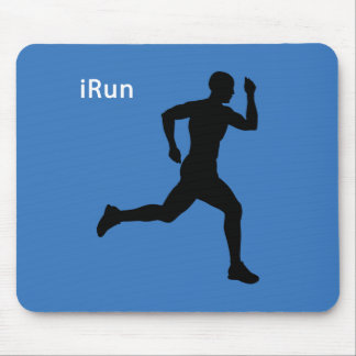 iRun Mouse Pad