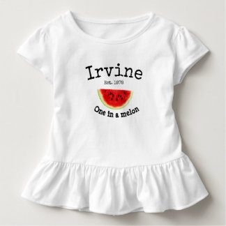 "Irvine California ""one in a melon"" baby shirt"