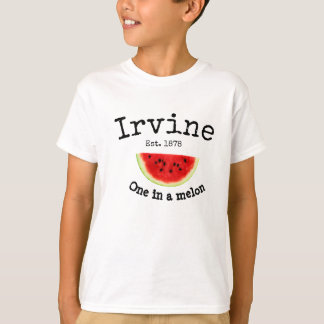 "Irvine California ""one in a melon"" shirt for boys"