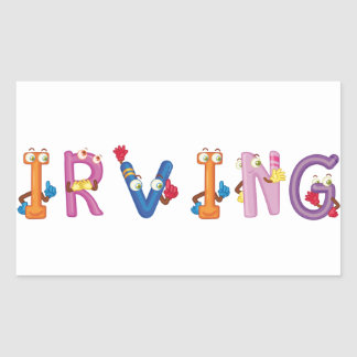 Irving Sticker