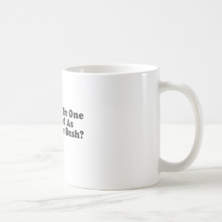 Is A Hole In One As Good As Two In The Bush? Basic White Mug