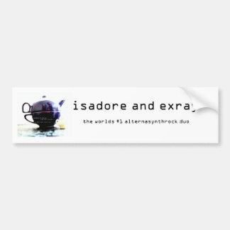 is/ex bumper sticker! bumper sticker