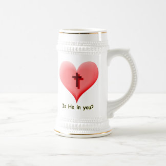 Is He In You? Beer Stein