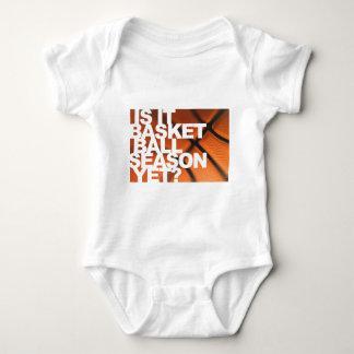 Is It Basketball Season Yet? Baby Bodysuit