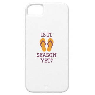 Is It Flip Flop Season Yet? iPhone 5 Cover