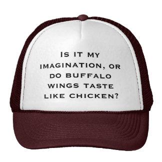 Is it my imagination, or do buffalo wings taste li cap