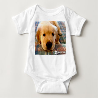 Is It Nap Time? HenryZ The Golden Retriever Baby Bodysuit