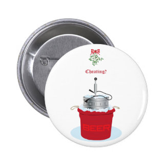 Is Mistletoe over the Keg Cheating Pins