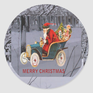 Is Santa Driving to Your Town Sticker