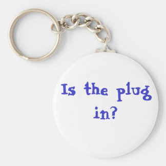 Is the plug in Keychain